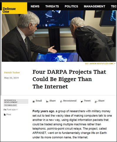 DARPA - THz is big